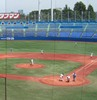 高校野球東東京大会決勝を視察