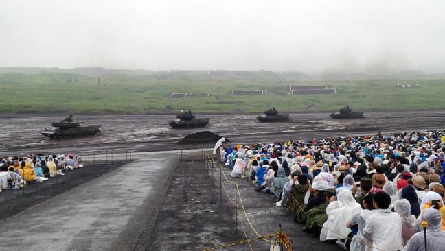 富士総合火力演習見学