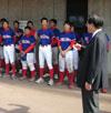 専門学校硬式野球部 都市対抗大会予選応援