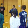 専門学校バスケットボール部 練習訪問