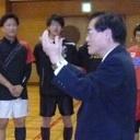 バレーボール部の練習を視察しました